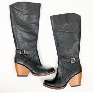 Kork-Ease Natalia Tall Leather BootsBuckle Detail